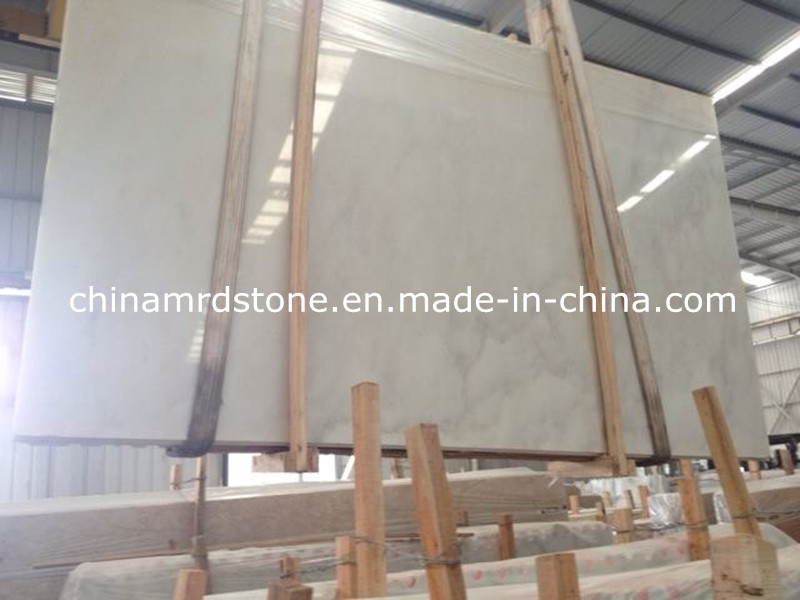 Calacatta popular White Marble con Floor Tile o Slab