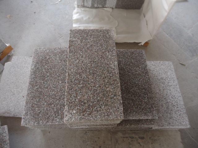 Granite rosado G636 Stone Tiles para Pavement