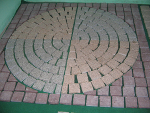 Granite natural Paving Stone para Landscape