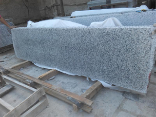 G439 Big White Flower Granite con Competitive Price