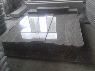 G664 Double Granite Monument para Hungría Market
