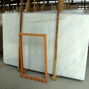 Natural blanco Polished Stone Marble para Big Slab