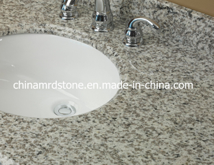 Tiger de encargo Skin White Granite Vanities para Bathroom