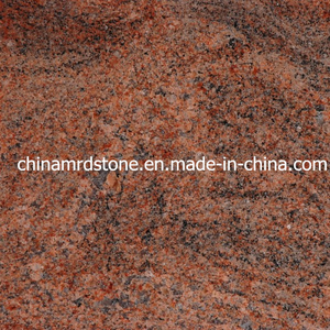 Overstock Imported Multicolor Red Granite para Tombstone o Countertop