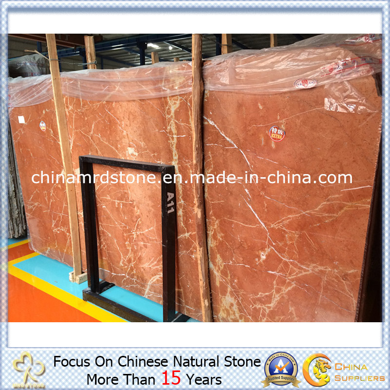 Coral popular Red Marble para Kitchen Slab o Tile