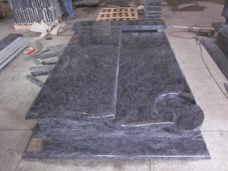 Orion Granite Double Tombstone para Memorial