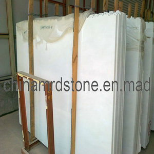 Big Polished White Granite Marble Slab para Countertop