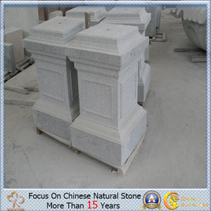 China de encargo Granite Stone Base para Flowerpot o Sculpture