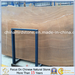 Wooden amarillo Marble para Building Wall o Floorig Tile