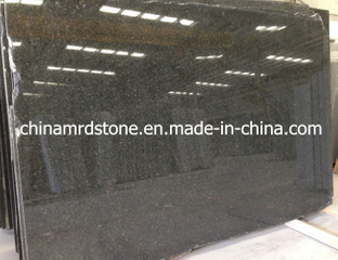 Imported Polished Zimbabwe Black Granite Slab para Countertop