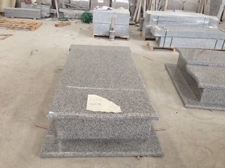 Hungría Tomb Stone con Grey Granite G623