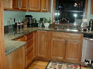 Descontar Prefab Granite Stone Vanity Top/Countertops para Kitchen