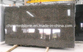 Brown báltico Granite Slab para Countertop o Backsplash