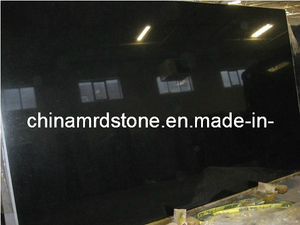 Black natural Galaxy Granite para Tombstone Slab