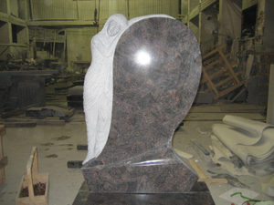 Natural popular Granite Stone Monument para Market europeo