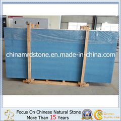 Ocean prefabricado Blue Artificial Quartz para Bathroom/Kitchen Slab