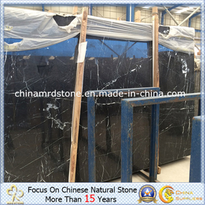 Nero Marquina Marble para Floor Tile o Bathroom Tile
