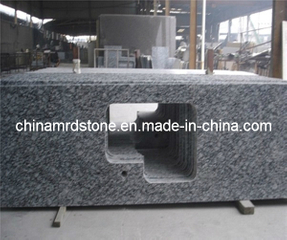 Aerosol White Granite Slab para Countertop o Worktop