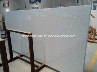 Slabs grande Quartz Stone con White Color para Countertops, Vanitytops