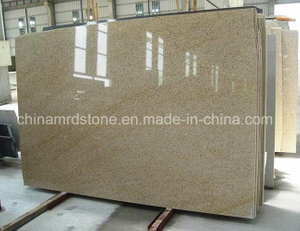 G682 precortado Rusty Yellow Granite Slab para Countertop o Paving