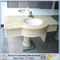 Marble amarillento Stone Bathroom Countertop con Quality Assurance