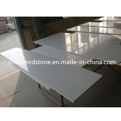 Modificar Popular para requisitos particulares Crystal White Quartz para Kitchen Countertop