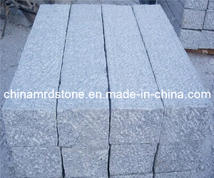 Vio el bordillo de Cutting o de Flamed White Granite para el jardín
