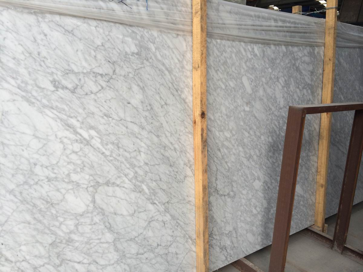 White de mármol Carrara para Construction