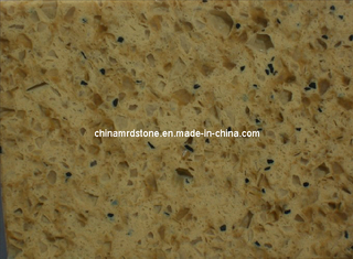 Artificial amarillo Quartz para Countertop y Floor