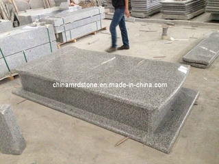 G623 Tombstone Grey Granite para Memorial
